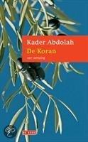Boekcover; De Koran, een vertaling door Kader Abdolah